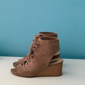 Forever 21 Shoes - Womens Lace-up booties Size 7